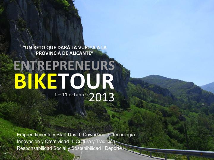 Entrepreneurs BikeTour1